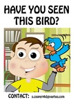 Big Bang Theory Sheldon's Bird