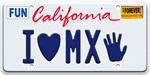 California License Plate I <3 MX-5