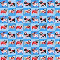 Valentine Pug Quilt