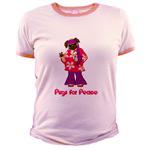 Pugs For Peace Hippie Girl