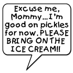 Baby Wants Ice Cream!