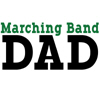 Marching Band Dad - green