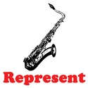Saxophone Represent