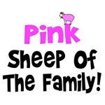 Pink Sheep of the Family T-Shirts & Gifts