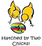 Hatched by Two Chicks Lesbian Family Gifts