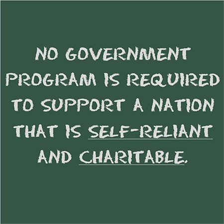 No government program is required