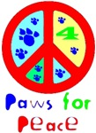 Paws for Peace Red