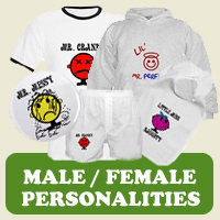 Personalities : Tees, Gifts &amp; Apparel 