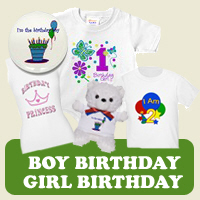 Birthday : Tees, Gifts &amp; Apparel 