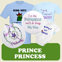 Prince &amp; Princess : Tees, Gifts &amp; Apparel 