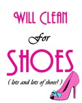 Will Clean For Shoes
