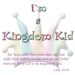 Faded I'm a Kingdom Kid Luke 18:16