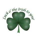 Luck o' the Irish to you!