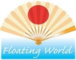 Ukiyo-e - 'Floating World Fan'