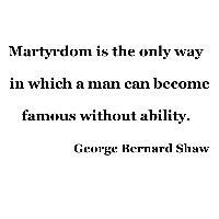 Martyrdom is