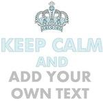 Keep Calm Add Text