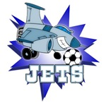 JETS SOCCER TEAM T-SHIRTS AND GIFTS