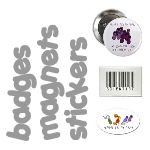 Buttons, Magnets and Stickers