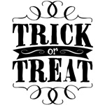 Trick or Treat - elegant black