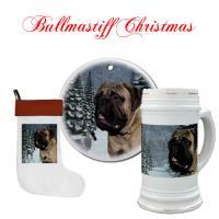Bullmastiff Christmas