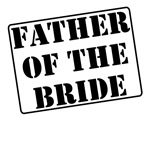 Father of the Bride Stamp T-Shirts
