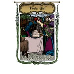 Medieval Flower Girl T-Shirts