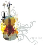 Violin Art T-Shirts and Gifts