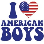I Love American  Boys T-Shirts