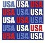 USA USA USA T-Shirts