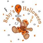 Baby's 1st Halloween T-Shirts (Girl)