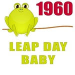 1960 Leap Year Baby T-Shirts