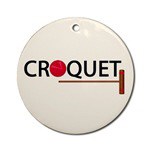 Croquet Ornaments