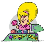 Big Haired Bowler T-Shirts and Gifts