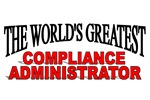 The World's Greatest Compliance Administrator