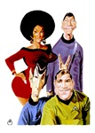 TOS Cast Caraciture