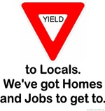 Yield to Locals
