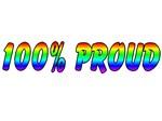 100% proud