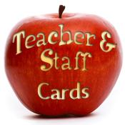 Teacher & Staff Appreciation Cards