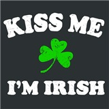 Kiss Me Irish Shamrock
