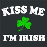 Kiss Me Irish Shamrock