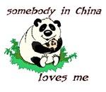 Somebody in China loves me
