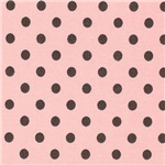 Sweet Pink and Black Polka Dots
