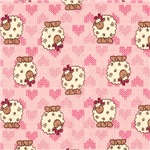 Baby Pink Lambs and Hearts