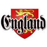 England Shield Coat of Arms