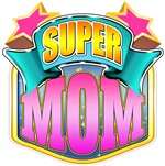 Super Mom - Pink Superhero
