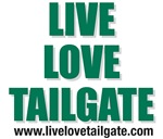 Live Love Tailgate Green