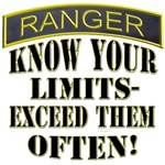 RANGER KNOW YOUR LIMITS