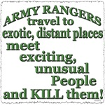 ARMY RANGERS TRAVEL
