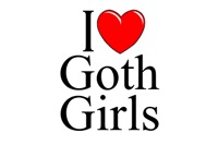 I Love (Heart) Goth Girls