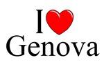 I Love (Heart) Genova, Italy